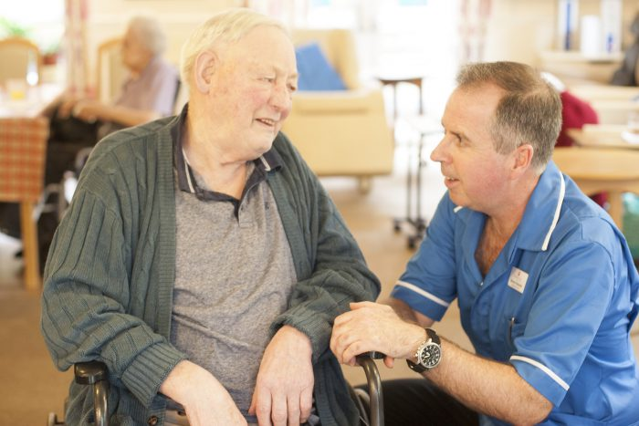 Caring for residents